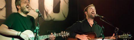 Andreu Valor i Guiem Soldevila en concertel 21 d'abril de 2017