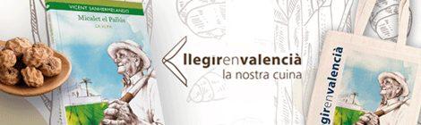 Llegir en valenciàla nostra cuina [Campanya de foment de la lectura]