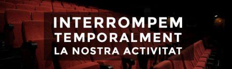 ATENENT LES RECOMANACIONS I PER RESPONSABILITAT SOCIAL, EL TEATRE MICALET INTERROMP TEMPORALMENT LA SEUA PROGRAMACIÓ