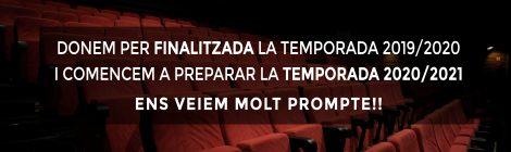 FINALITZEM TEMPORADA I COMENCEM A PREPARAR LA TEMPORADA 20/21